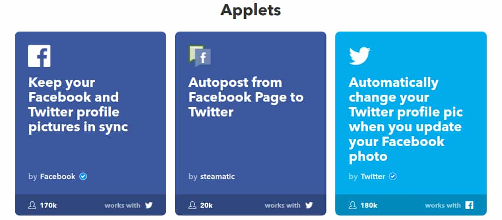auto post facebook to twitter