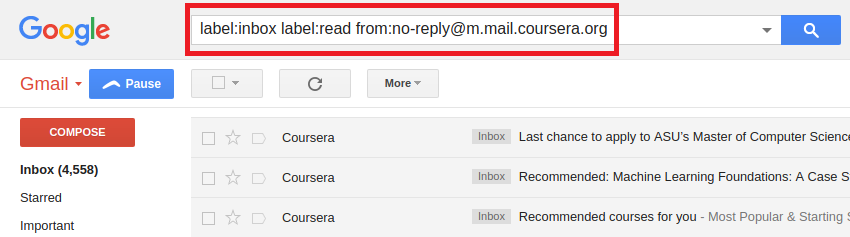 delete all mail in gmail label level