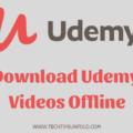 download udemy videos offline