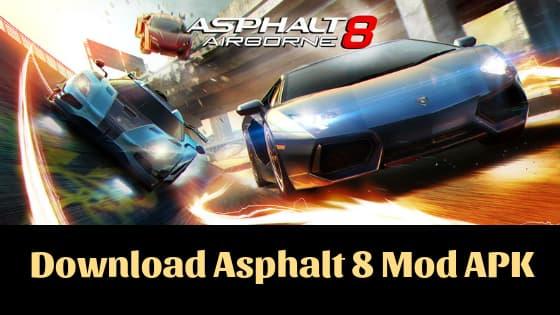 mod asphalt 8