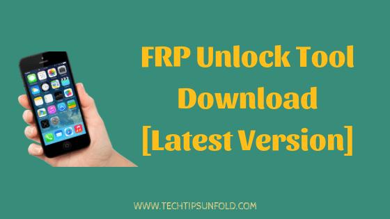 frp unlock tool download