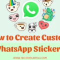 how to make custom whastapp stickers