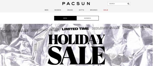 pacsun - best alternatives to zumiez