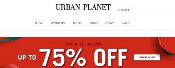 urban planet - zumiez like store