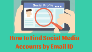 How to Find Social Media Accounts with Email