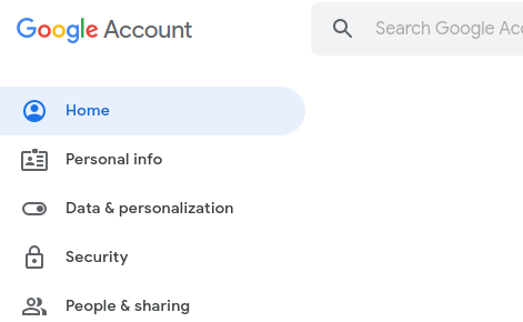 Google Pay option - Personalisation Setting