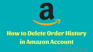 How to Delete Amazon Order History Permanently