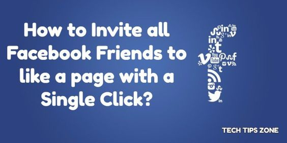 invite facebook friends to like fb page
